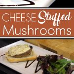 Cheese Stuffed Mushroom Recipe