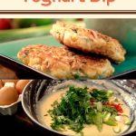 Sweetcorn Fritters And Yoghurt Dip