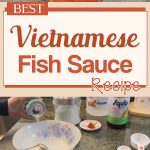 Best Vietnamese Fish Sauce Recipe!