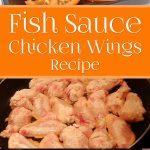 Fish Sauce Chicken Wings Recipe