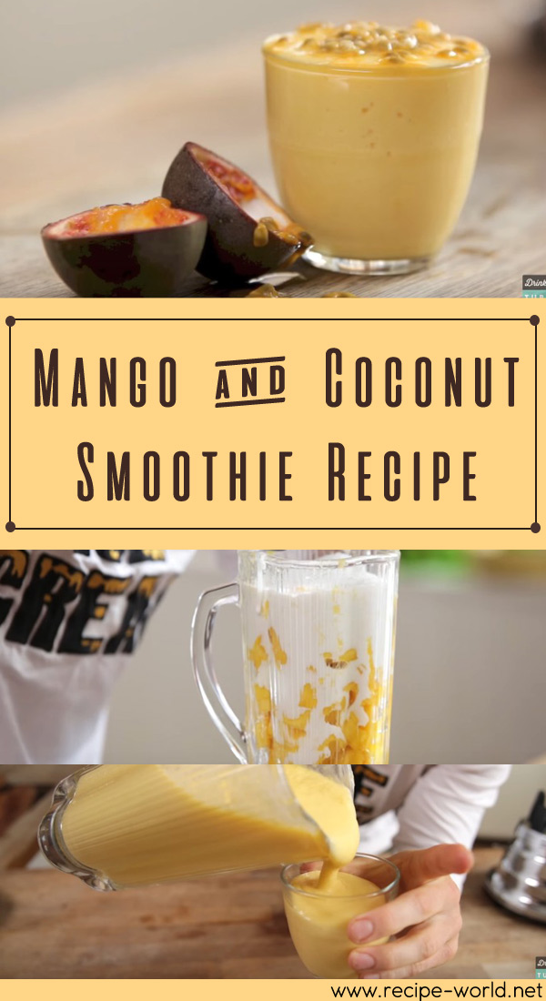 Mango & Coconut Smoothie Recipe
