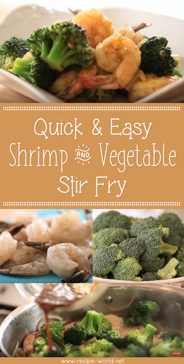 Quick & Easy Shrimp And Vegetable Stir Fry