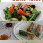 3 Easy Healthy Vegan Lunch Ideas