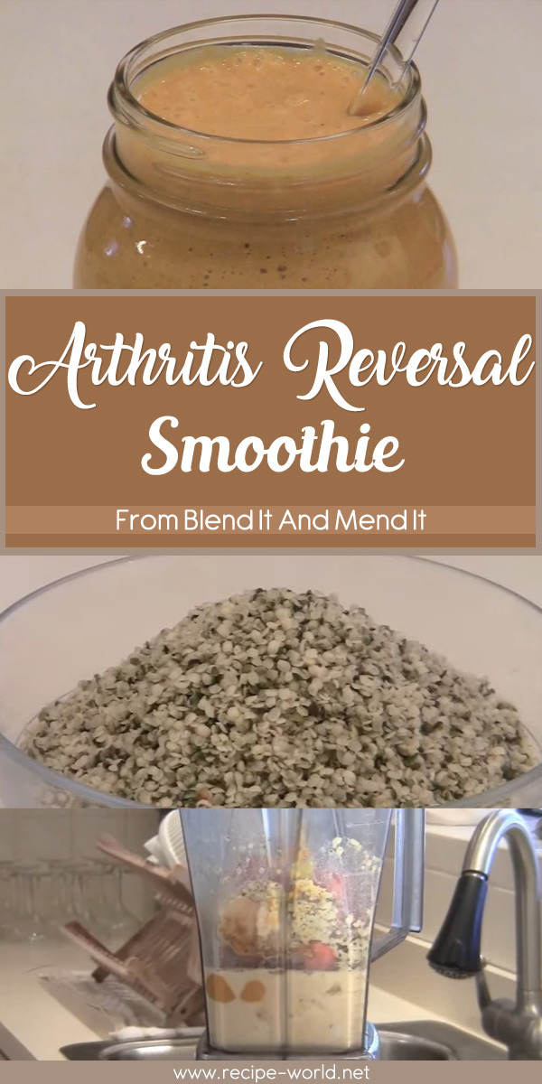 Arthritis Reversal Smoothie from Blend It And Mend It