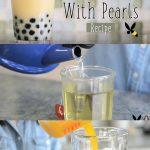 Bubble Milk Tea With Pearls Recipe