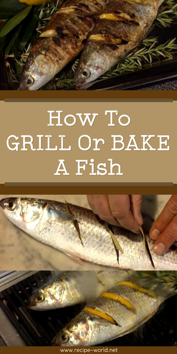 How To Grill Or Bake A Fish