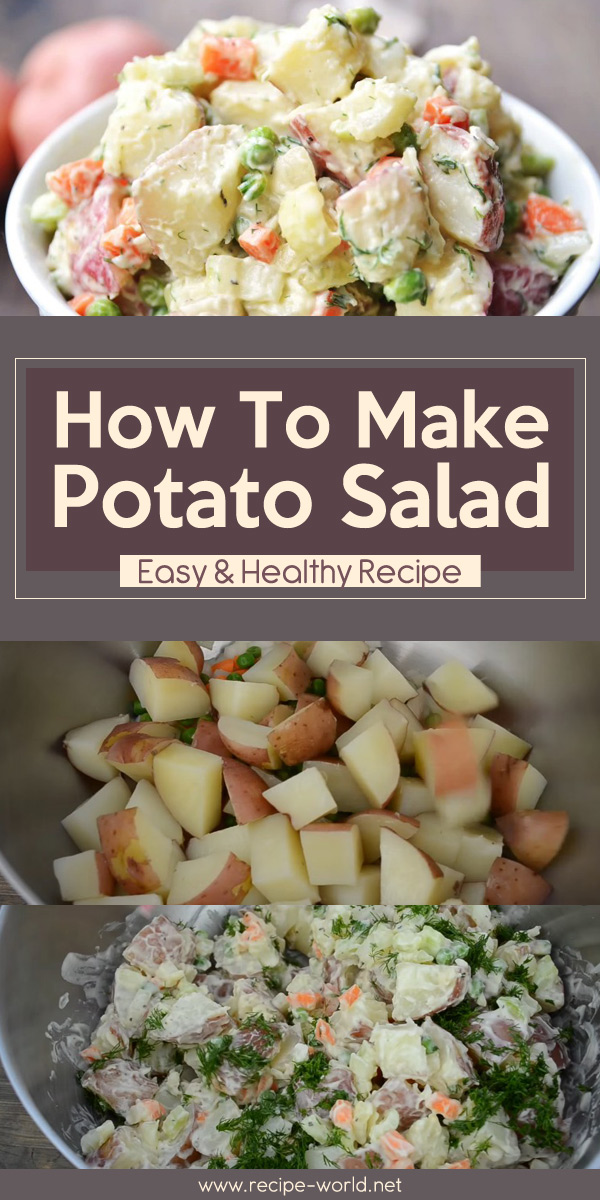 How To Make Potato Salad - Easy & Healthy Recipe