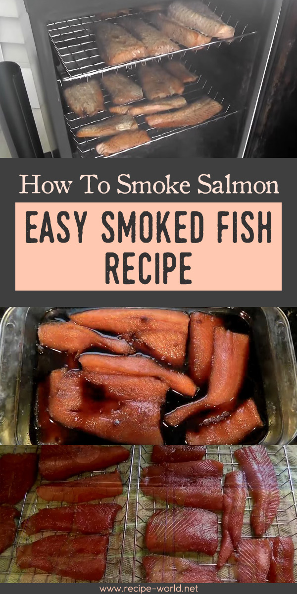 How To Smoke Salmon - Easy Smoked Fish Recipe