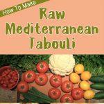 Raw Mediterranean Tabouli