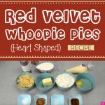 Red Velvet Whoopie Pies (Heart Shaped)
