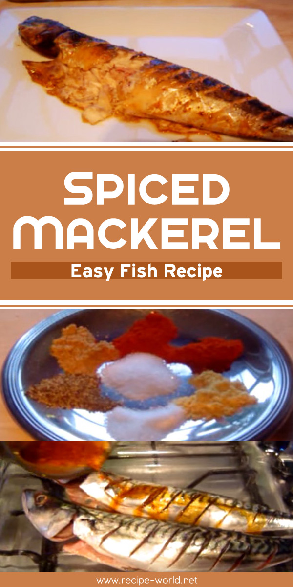 Spiced Mackerel - Easy Fish Recipe