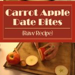 Carrot Apple Date Bites (Raw Recipe)