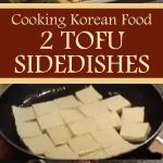 Cooking Korean Food: 2 Tofu Sidedishes
