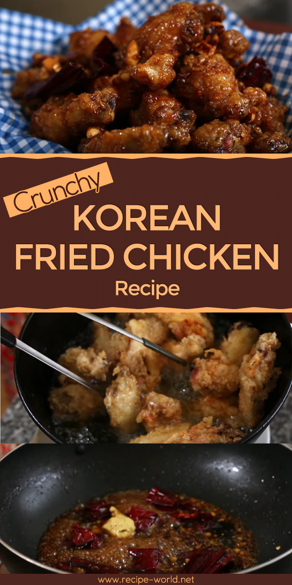 Crunchy Korean Fried Chicken Recipe