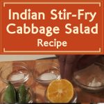 Indian Stir-Fry Cabbage Salad Recipe