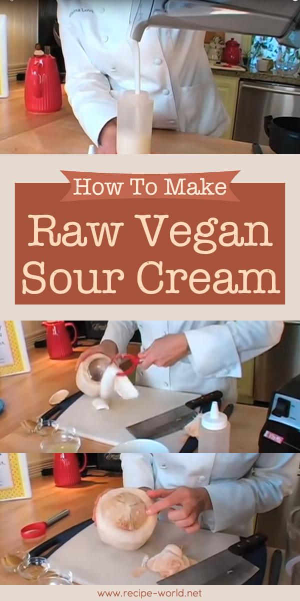 Raw Vegan Sour Cream