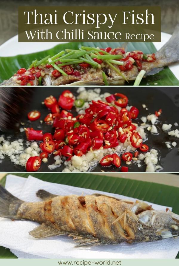 Thai Crispy Fish With Chilli Sauce, Duncanu0027s Thai Kitchen