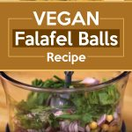 Vegan Falafel Balls Recipe