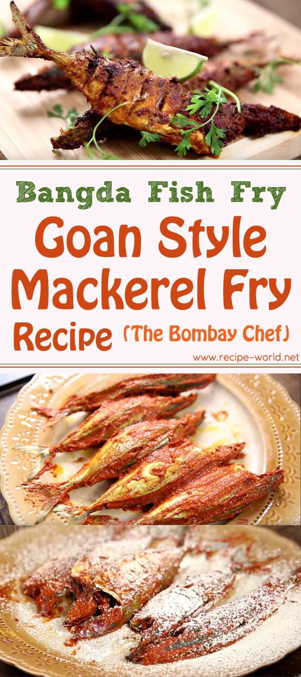 Bangda Fish Fry – Goan Style Mackerel Fry Recipe - The Bombay Chef