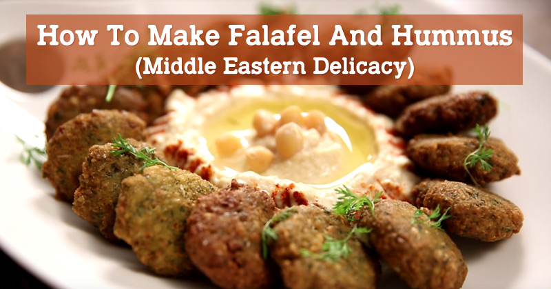 Recipe World How To Make Falafel And Hummus (Middle Eastern Delicacy) - Recipe World