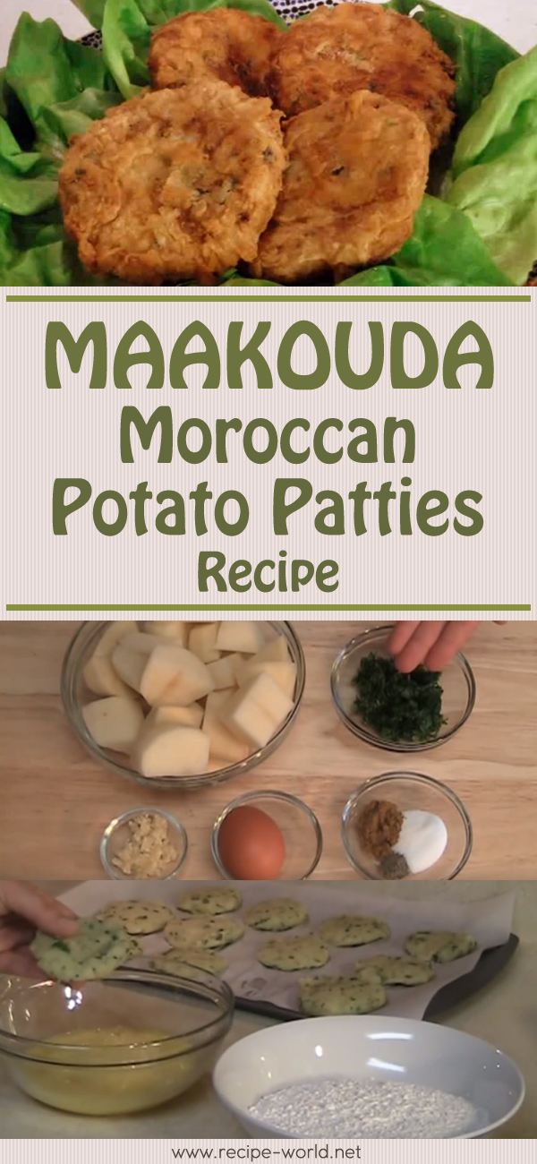 Maakouda - Moroccan Potato Patties