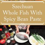 Szechuan Whole Fish With Spicy Bean Paste