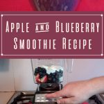 Apple & Blueberry Smoothie
