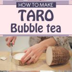 How To Make Taro Bubble Tea (Smoothie Recipe)