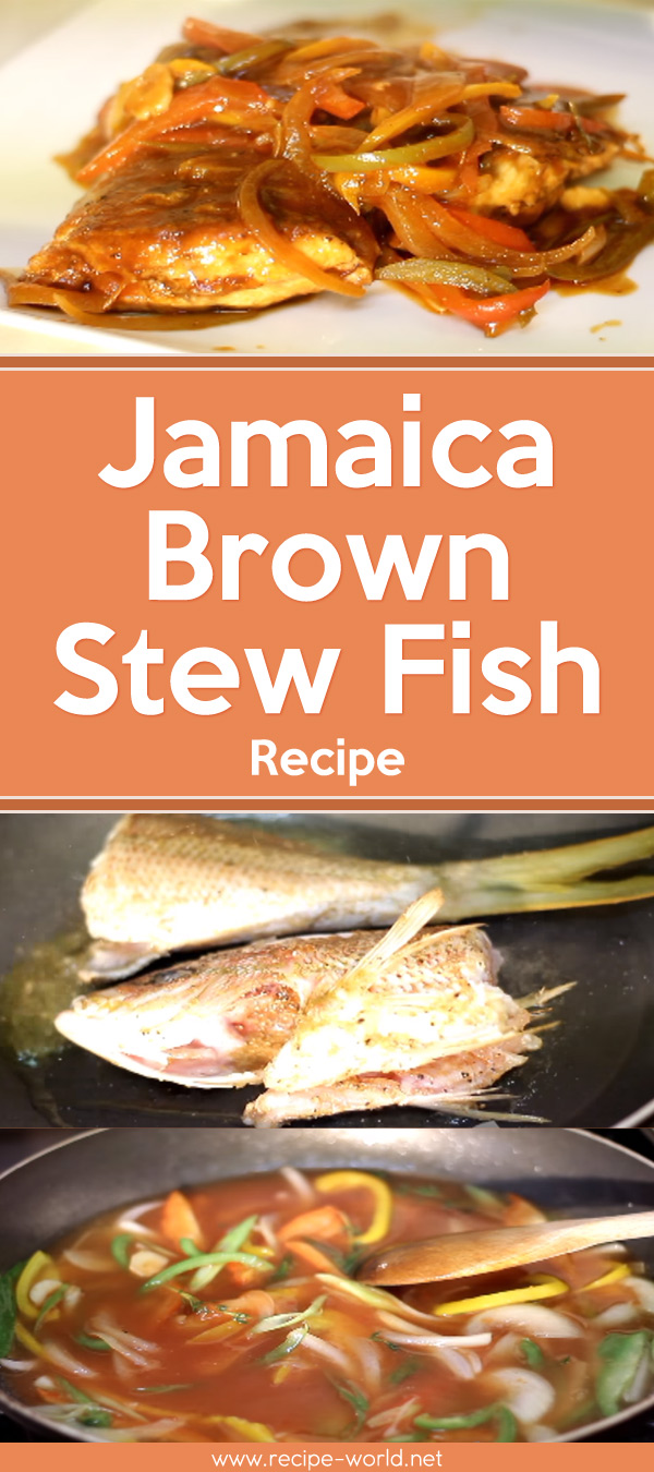 Jamaica Brown Stew Fish Recipe