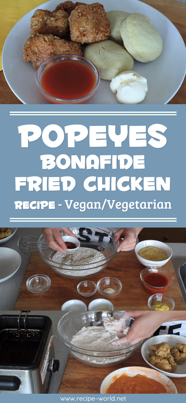Popeyes Bonafide Fried Chicken - Vegan Vegetarian