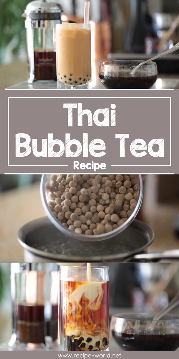 Thai Bubble Tea Recipe