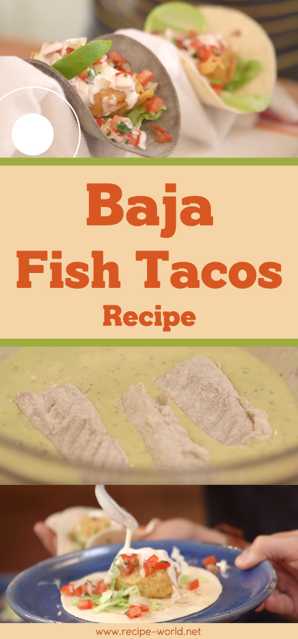 Baja Fish Tacos Recipe