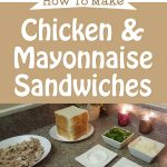 Chicken & Mayonnaise Sandwiches