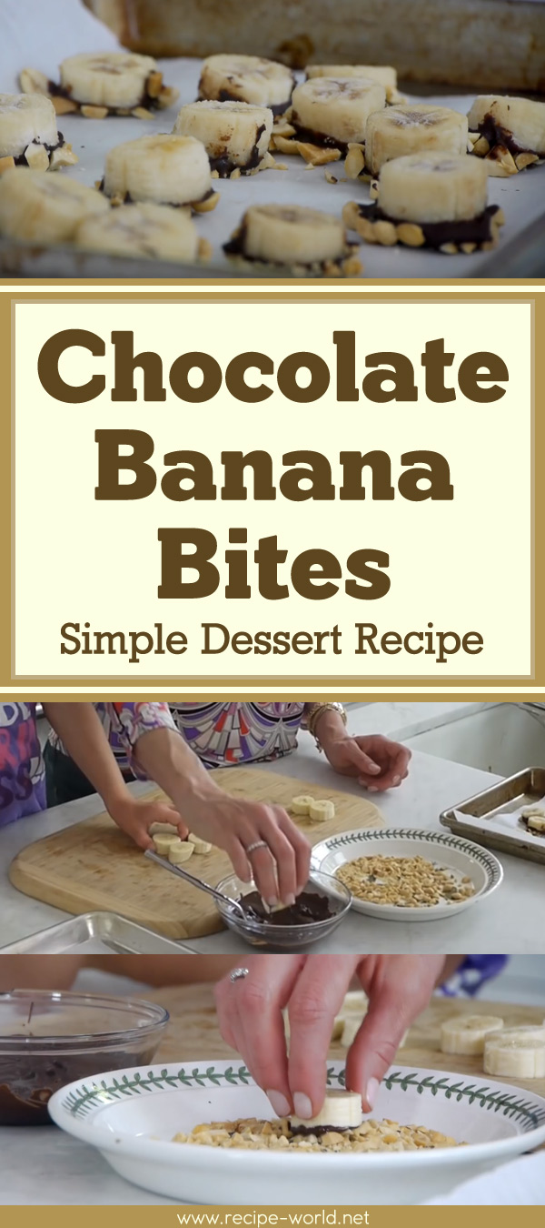 Chocolate Banana Bites - Simple Dessert Recipe