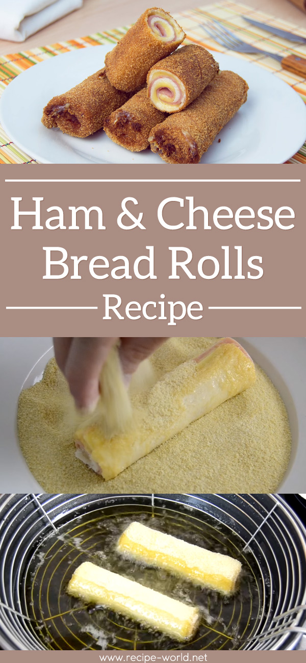 Ham & Cheese Bread Rolls