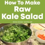 How To Make A Raw Kale Salad