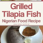 Grilled Tilapia Fish – Nigerian Food Recipe