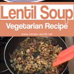 Lentil Soup – Masoor Dal – Vegetarian Recipe
