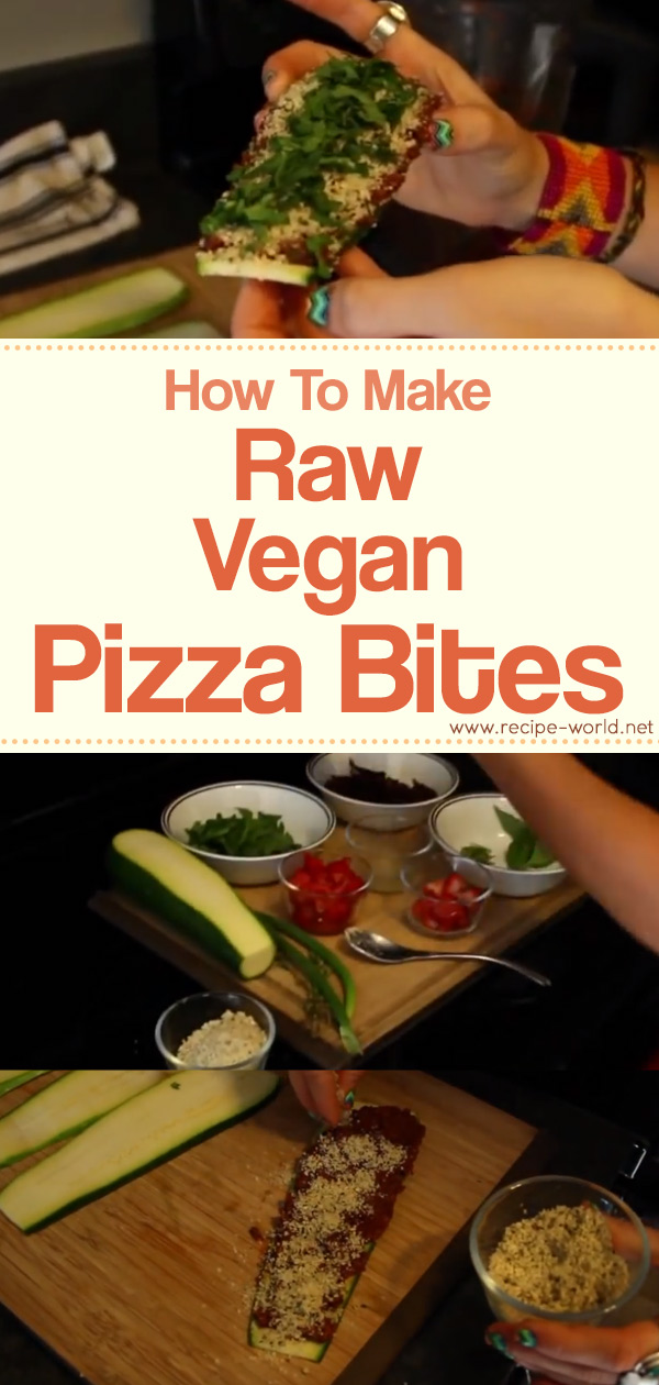 Raw Vegan Pizza Bites