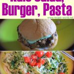 Healthy Vegetarian Dinner Recipes – Kale Salad, Burgers, Pasta