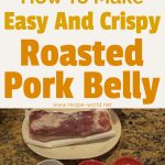 How To Make Easy And Crispy Roasted Pork Belly – Thit Heo Quay