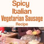 Spicy Italian Vegetarian Sausage