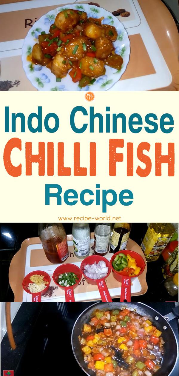 Indo Chinese Chilli Fish Recipe