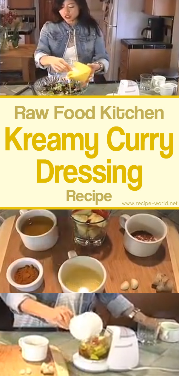 Raw Food Kitchen Kreamy Curry Dressing