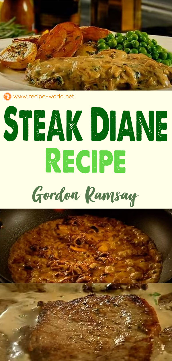 Steak Diane - Gordon Ramsay