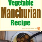 Vegetable Manchurian Recipe
