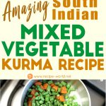 Amazing South Indian Mixed Vegetable Kurma Recipe