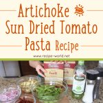 Artichoke & Sun-Dried Tomato Pasta Recipe
