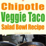 Chipotle Veggie Taco Salad Bowl