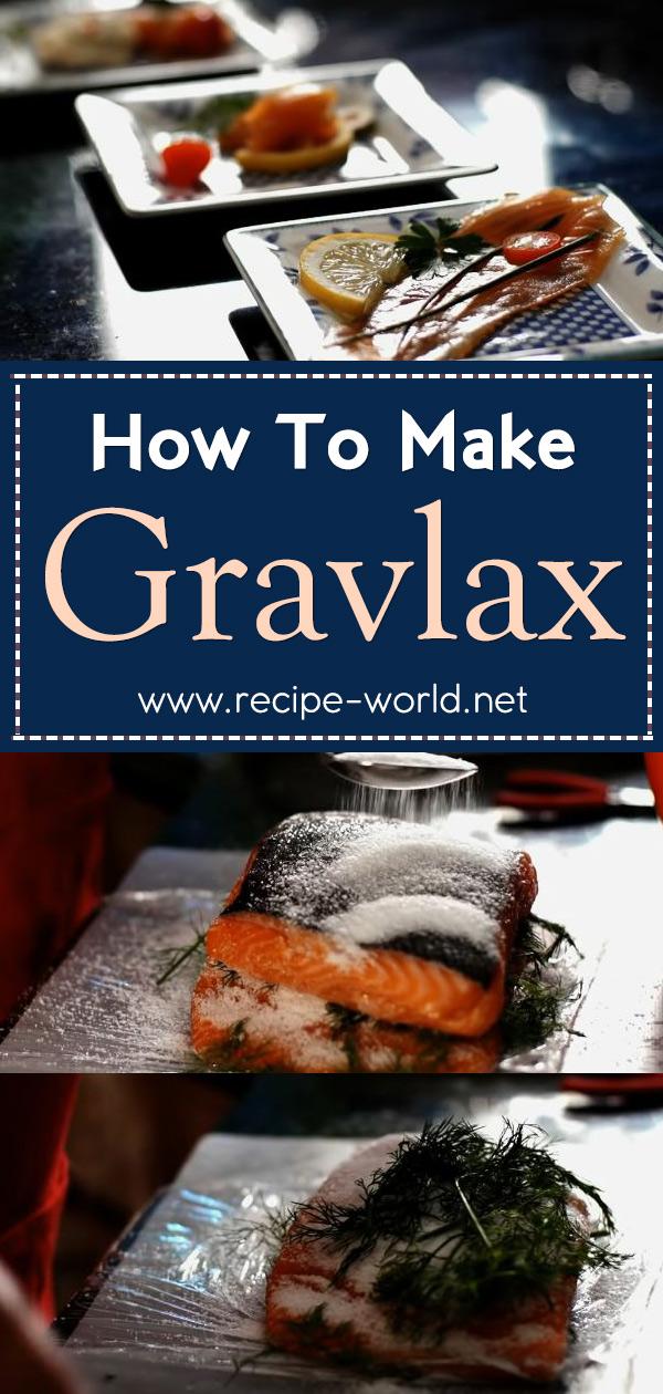 How To Make Gravlax